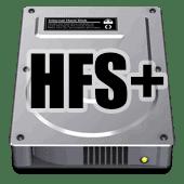 HFS+ sistema de ficheros de Mac OS X