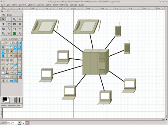 Dia The Diagram Creation Tool Linux Journal