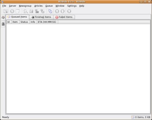 KLibido - KDE binaries downloader - LinuxLinks