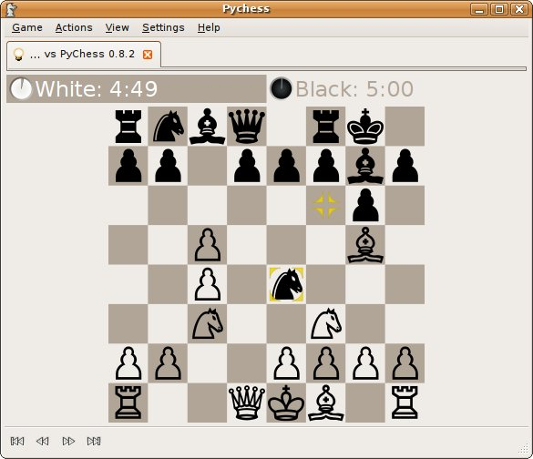 PyChess - free gtk chess client - LinuxLinks