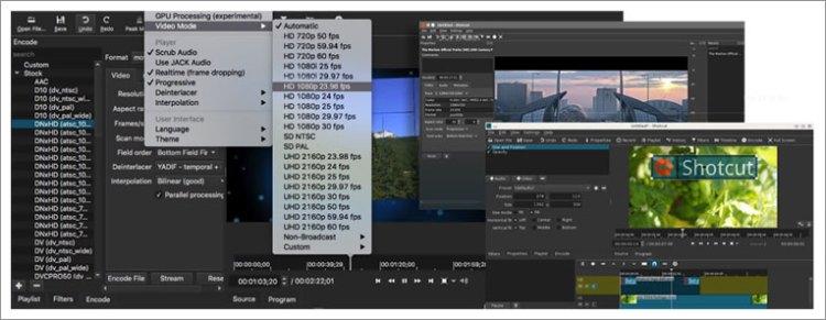 Shotcut - cross-platform video editor - LinuxLinks