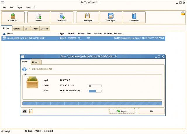 Peazip Winrar Winzip Alternative Linuxlinks