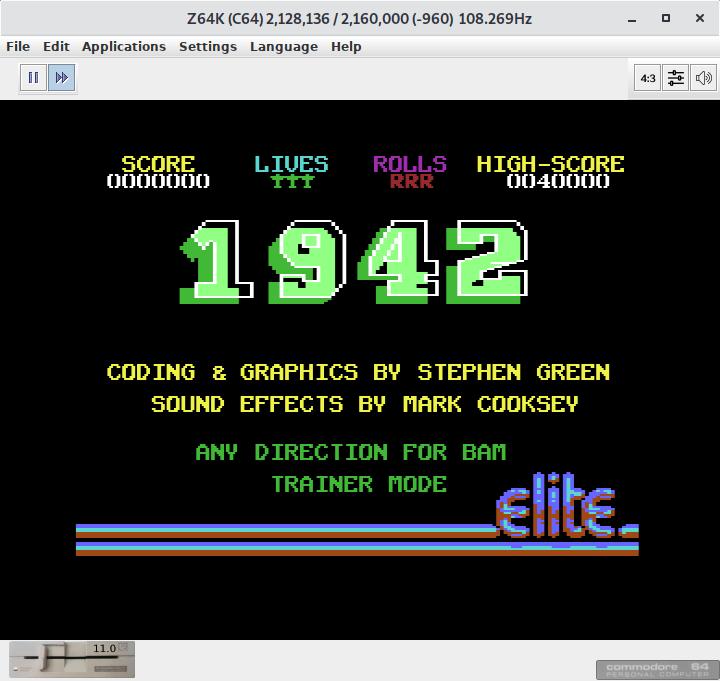 Z64K - Atari 2600, Commodore 64, Commodore 128, and VIC 20 emulator