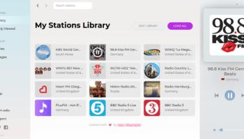 Shortwave - GTK3 internet radio software - LinuxLinks