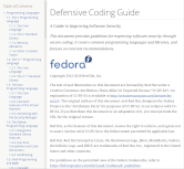 Defensive Coding Guide
