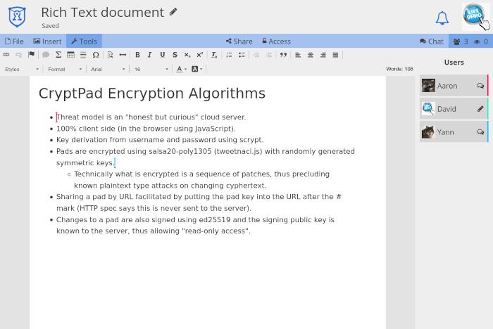 Cryptpad