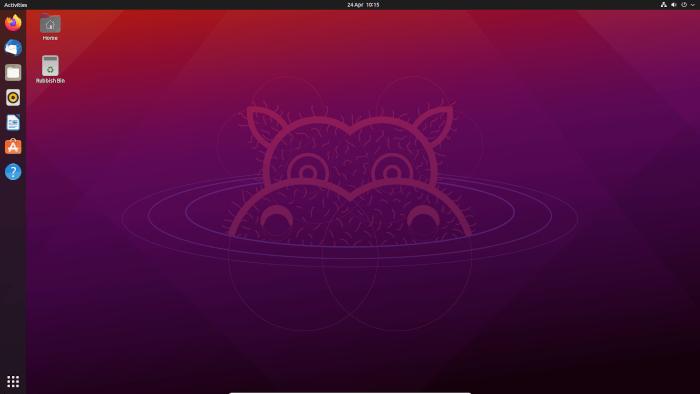 HP EliteDesk 800 G2 - Ubuntu 21.04