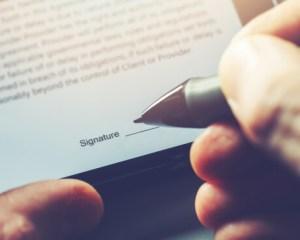 Electronic Signature Service