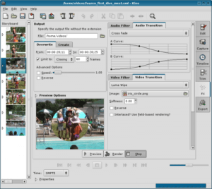 Kino Video Editor for Linux
