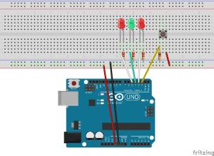 Arduino Starterkit 215 – Spaceship Interface | Linuxpinguinde