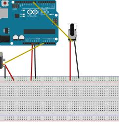arduino starterkit 5 servo mood indicator connection layout [ 1965 x 1578 Pixel ]