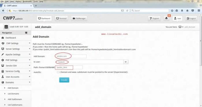 Add-Domain-CWP-Admin-Portal