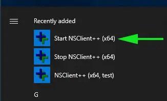 Click-start-NSClient-service-windows