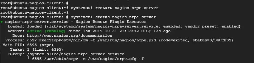 Restart-nrpe-check-status