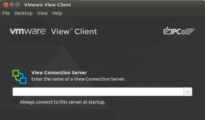 VMware View Client - Ubuntu