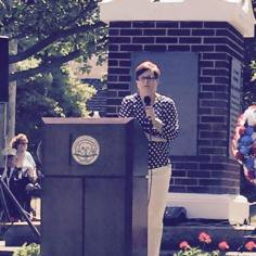 2015 Citizen of the Year June Dix