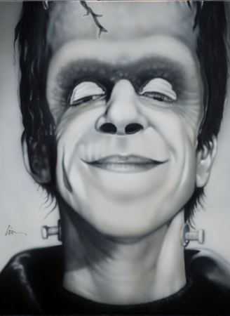 Herman Munster fin
