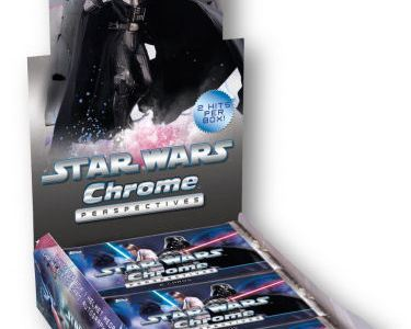 Stars Wars Chrome Perspectives- my recent sketch card gig for Topps