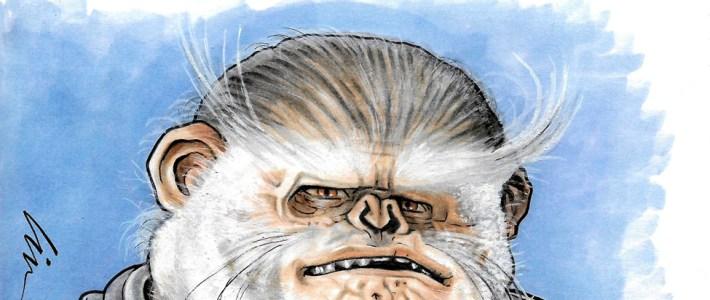"Bistan- My Latest Star Wars ""Space-Monkey"" Sketchcover"