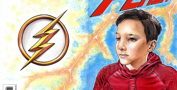 Flashback Friday- My Zee Flash Sketchcover