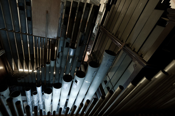 Cathedral of the Good Shepherd Bevington organ pedal bombarde pipes