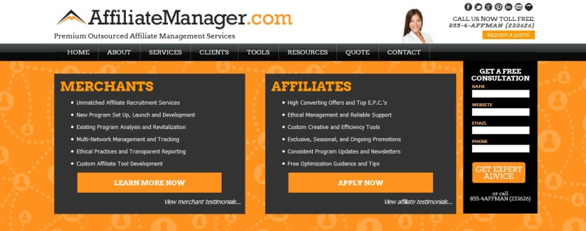 Affiliate Manager