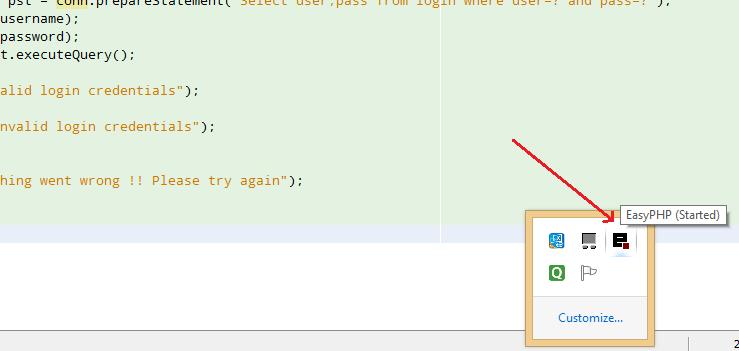 jsp login page with mysql