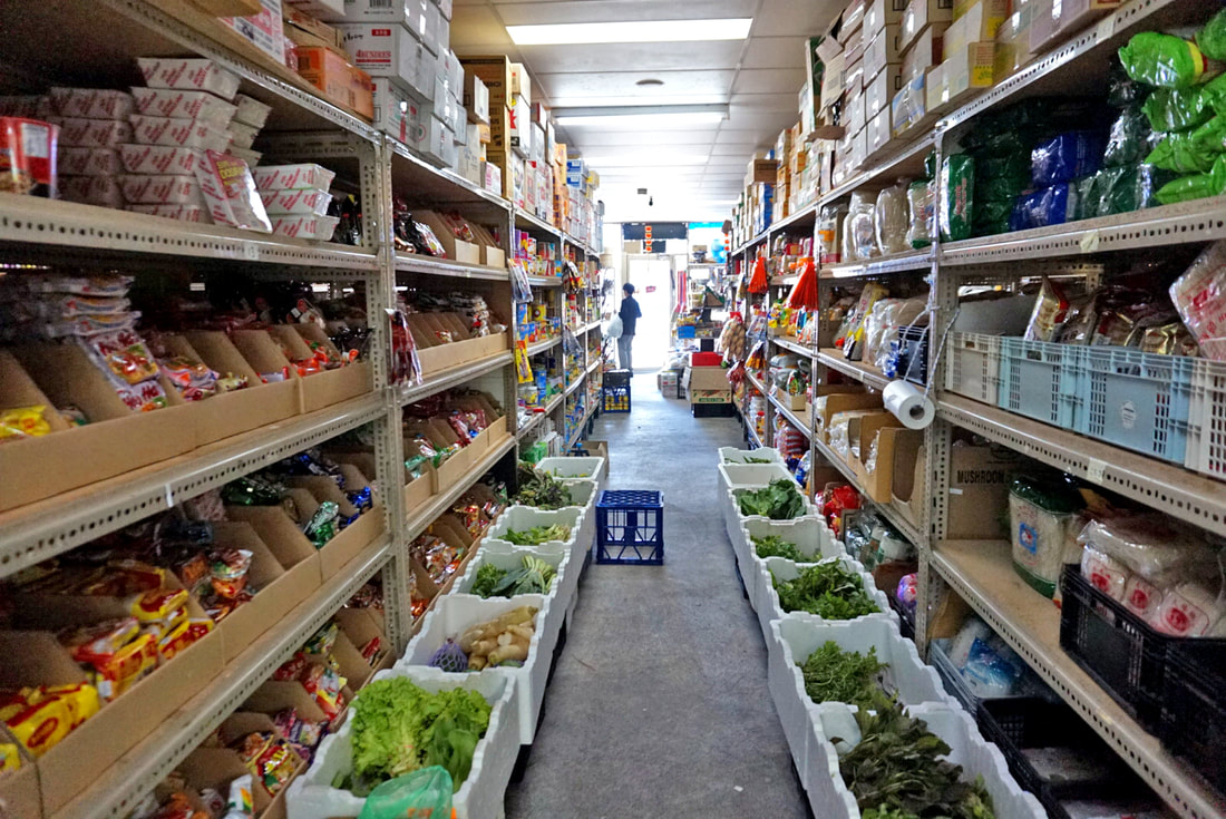 Asian Grocery Aisle