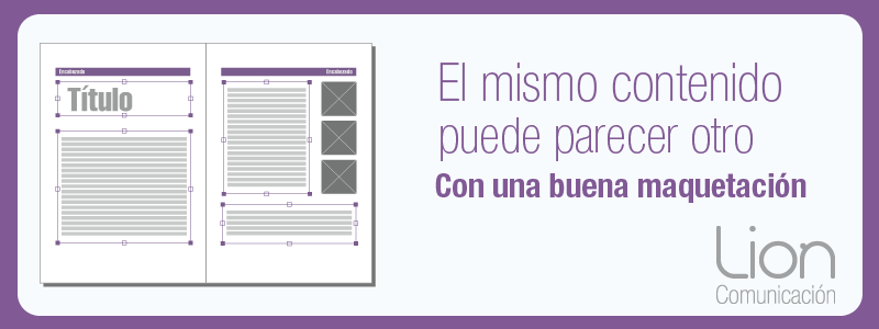 Maquetación de textos en Zaragoza