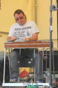 With my Wiesner pedal steel