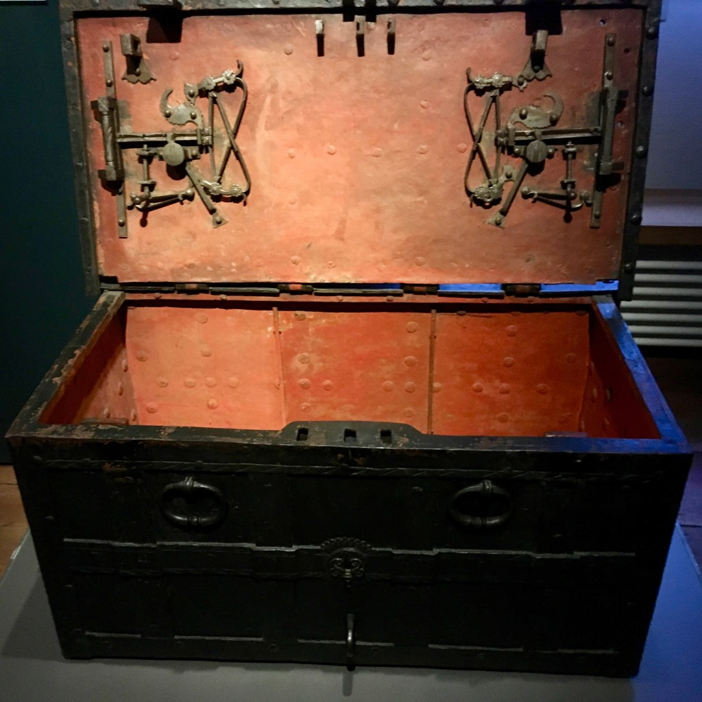 Community Chest from 16th Century Wittenberg.