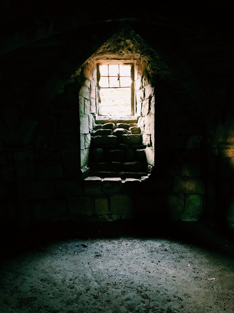 The cellars in Finchale Priory, Durham