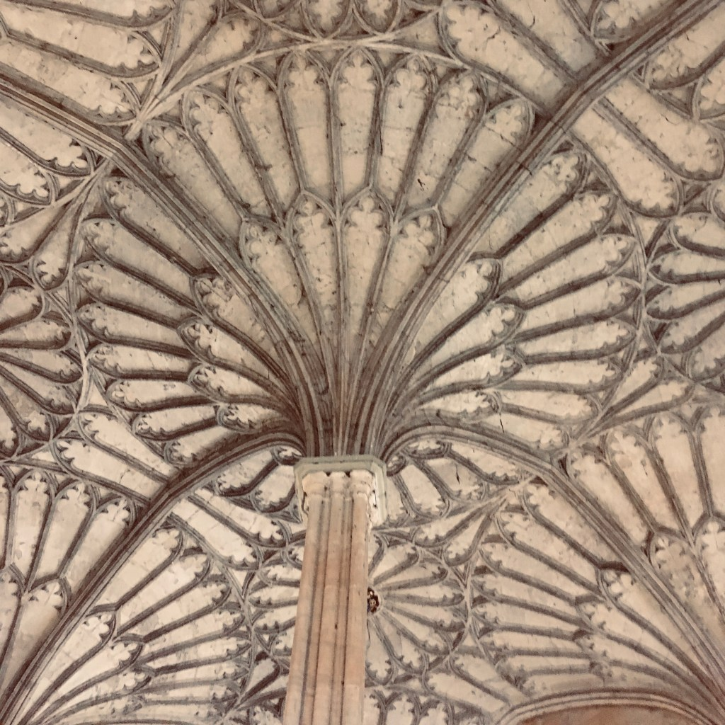 Ceiling Pattern, Christ Church College Staircase, Oxford