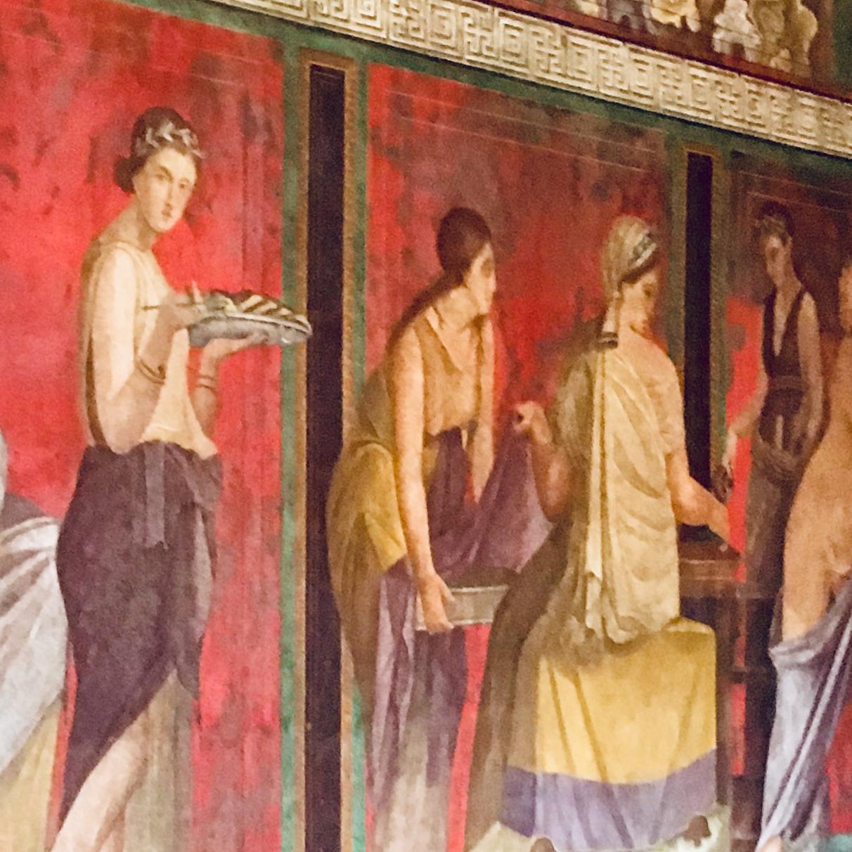 Fresco in the Villa of Mysteries, Pompeii
