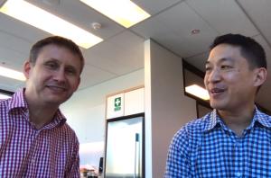 Lionel Windsor and Dan Wu