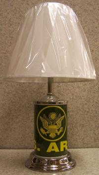 Welcome to the Manor: Military Table Lamps