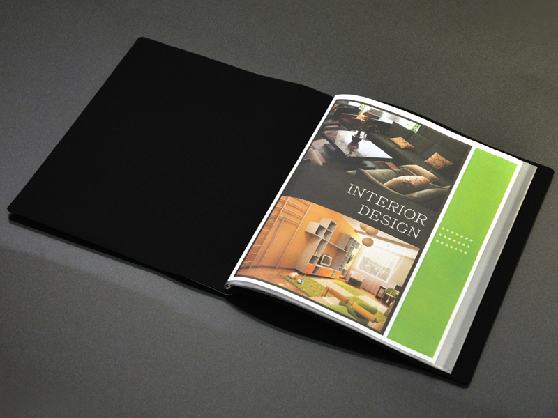 art portfolio presentation display