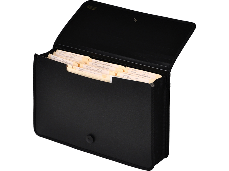Poly Expanding Wallet Black Legal Wallet