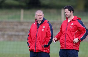 Andy Farrell & Graham Rowntree