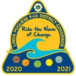 "DG Pin - ""Ride the Wave of Change"""