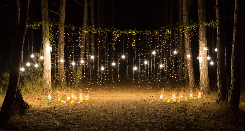 outdoor lighting for a great outdoor event