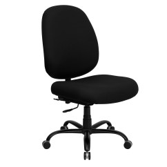 Task Chair Without Arms Knoll Spark Flash Furniture Wl 715mg Bk Gg Big And Tall Black Fabric