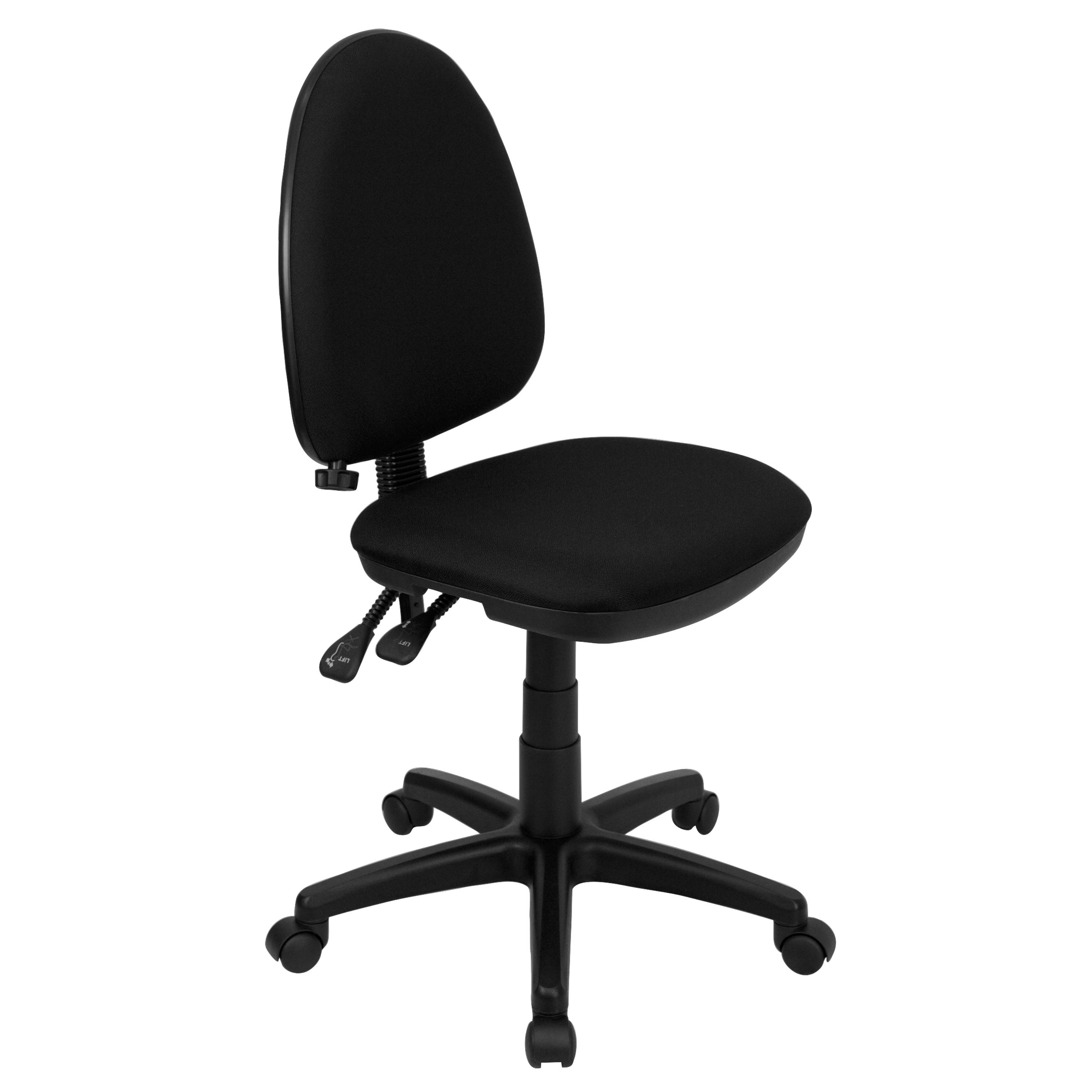 ergonomic chair request letter wing back dining chairs flash furniture wl a654mg bk gg black fabric multi