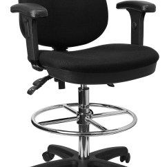 Drafting Chairs With Arms Affordable Rocking Chair Flash Furniture Kc B802m1kg Gg Ergonomic Multi