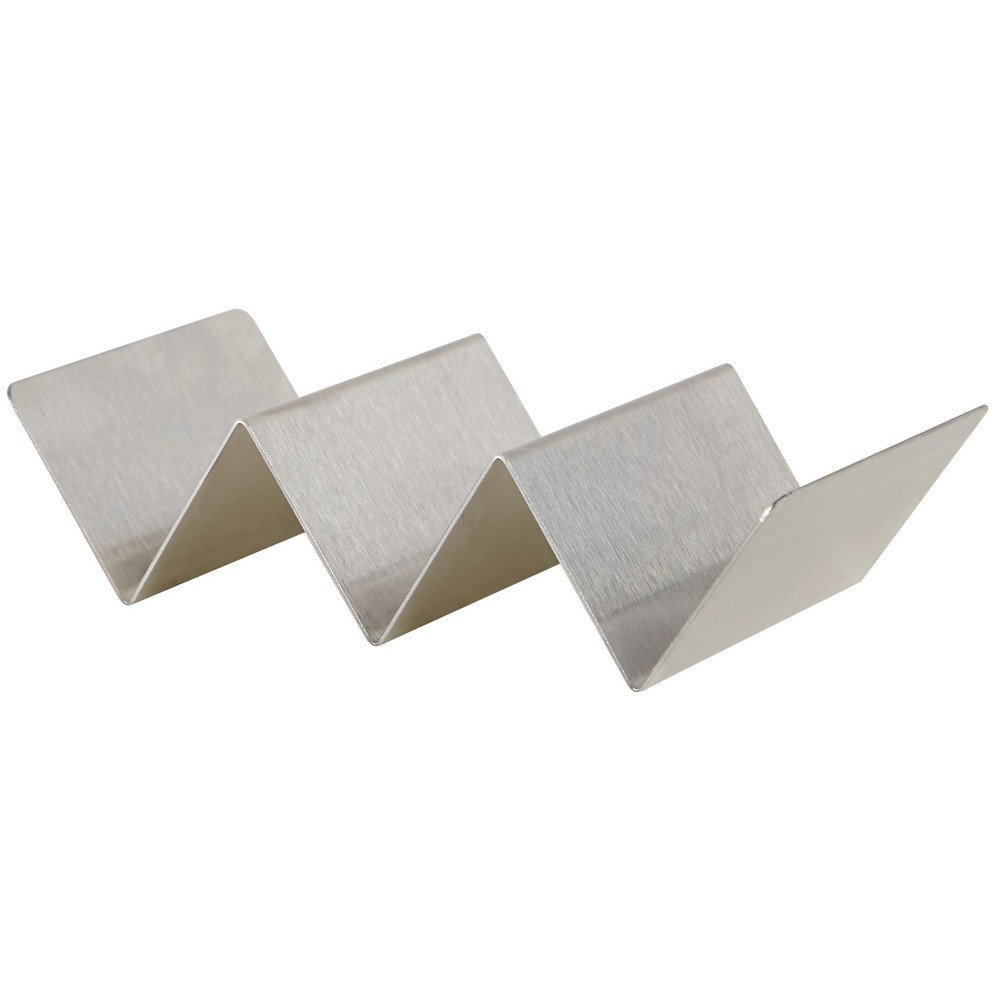 Stainless Steel Taco Holder with 2