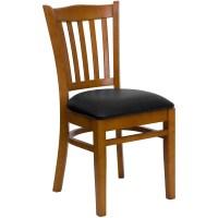 Flash Furniture XU-DGW0008VRT-CHY-BLKV-GG Vertical Slat ...