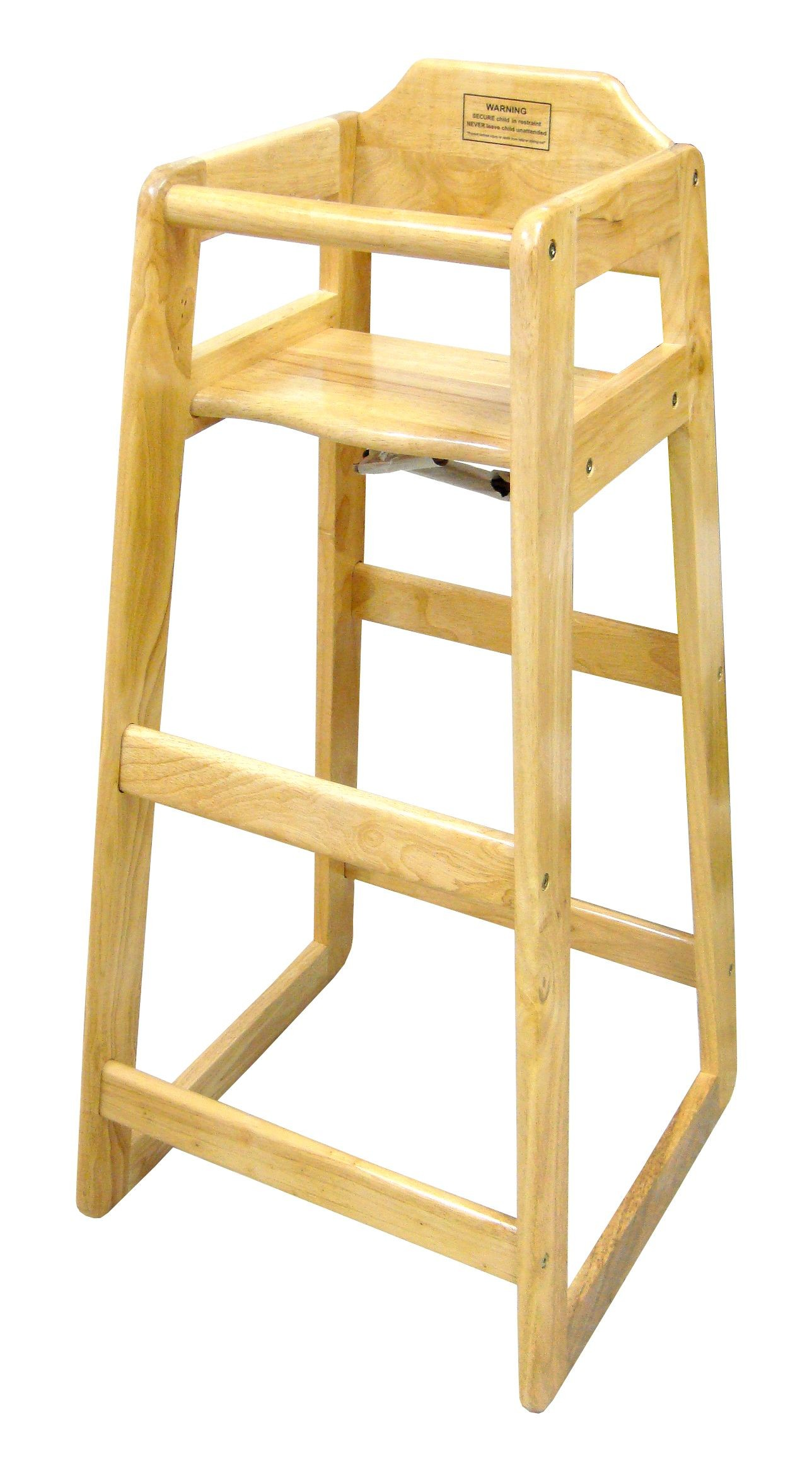 table height high chair rustic ladder back chairs winco chh 601 wooden pub 41 quot lionsdeal