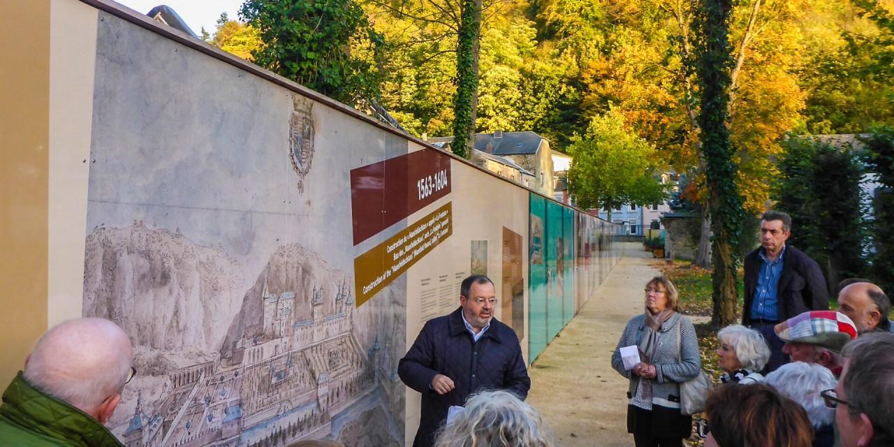 Visite du château de Mansfeld