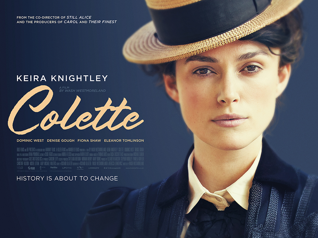 Image result for colette 2018 poster