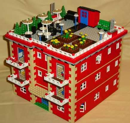 LEGO Instructions For Apartment Building Model By Lions